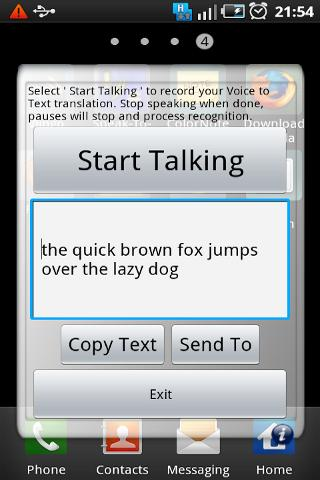 Speak-To-Text