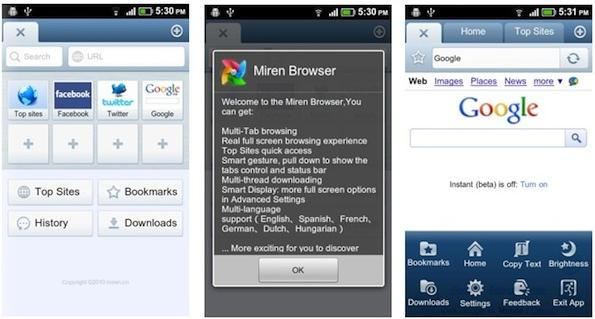 bester handy browser android