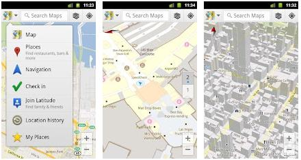 Google Maps with Navigation